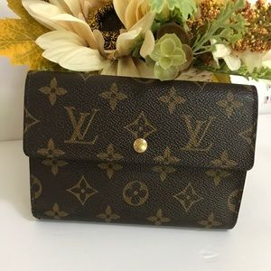 Louis Vuitton tresor trifold wallet